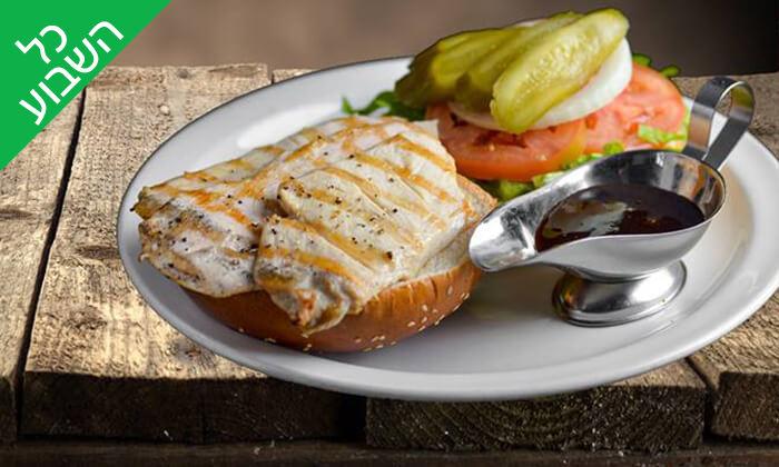 4 ארוחת בשרים ליחיד או לזוג במסעדת קניבר, חיפה עיר תחתית