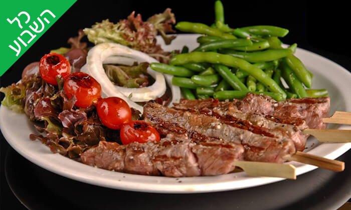 8 ארוחת בשרים ליחיד או לזוג במסעדת קניבר, חיפה עיר תחתית