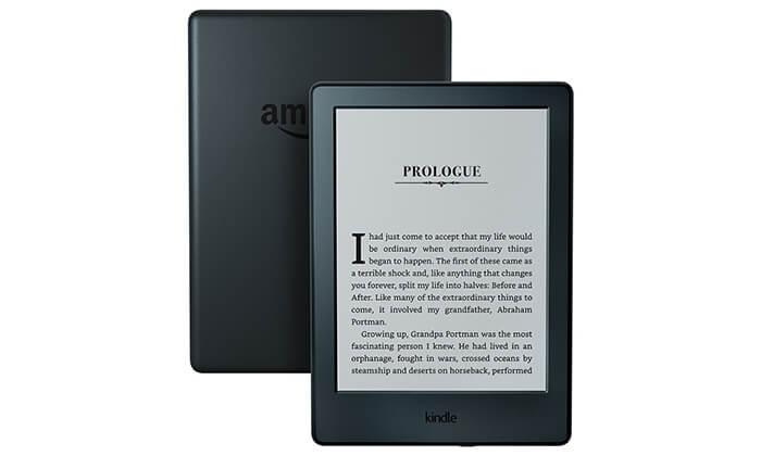 קורא ספרים אלקטרוני Amazon Kindle - משלוח חינם