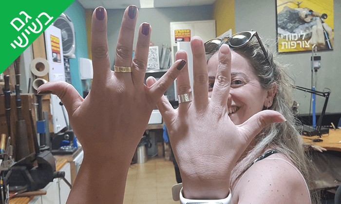 6 סדנת צורפות - בית הספר לצורפות בהנהלת יניב שפירא, תל אביב