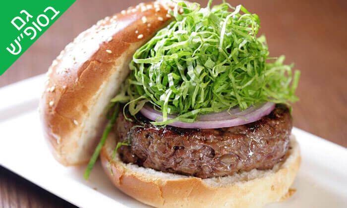 2 ארוחת המבורגר ב-Hamburg, טיילת תל אביב