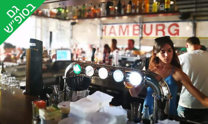 9 ארוחת המבורגר ב-Hamburg, טיילת תל אביב