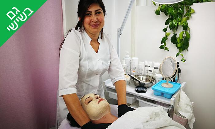 4 טיפולי פנים לבחירה בקליניקה של אלה ארונוב, ראשון לציון