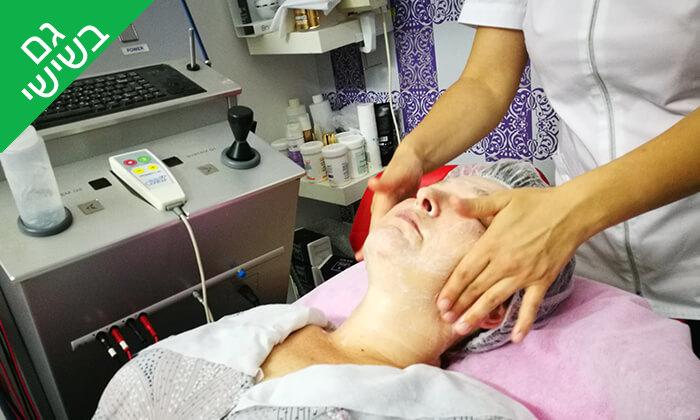 5 טיפולי פנים אצל נטלי מנדרוסוב, ראשון לציון