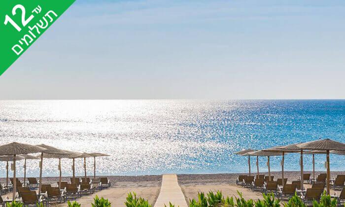 6 קיץ ברודוס - מלון 5 כוכבים Elysium על חוף הים