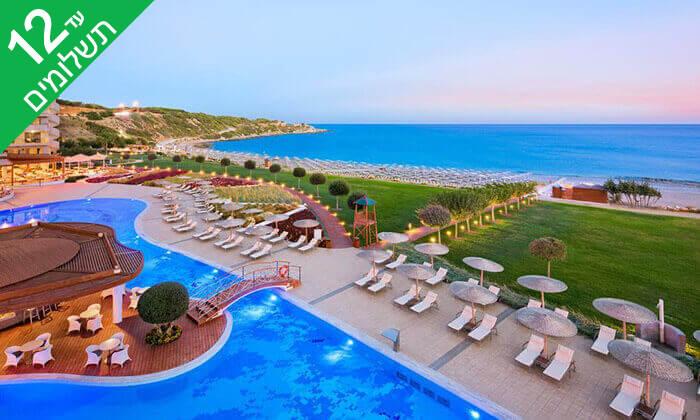 7 קיץ ברודוס - מלון 5 כוכבים Elysium על חוף הים