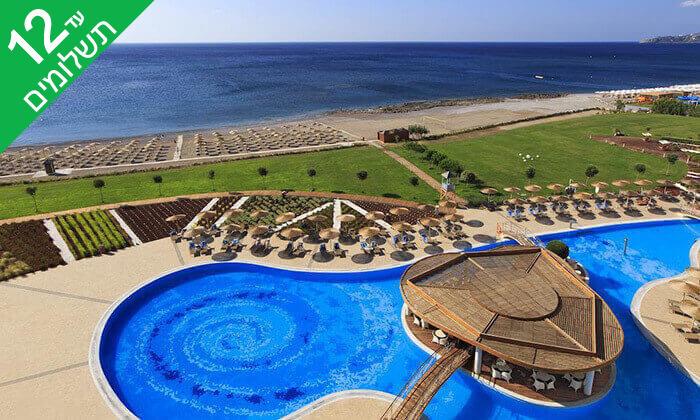2 קיץ ברודוס - מלון 5 כוכבים Elysium על חוף הים