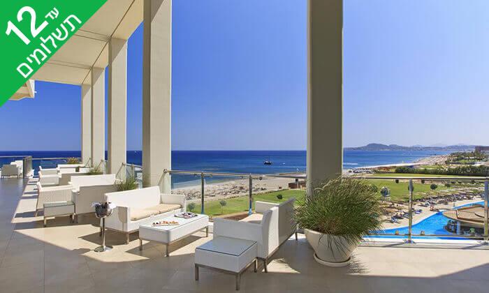 12 קיץ ברודוס - מלון 5 כוכבים Elysium על חוף הים