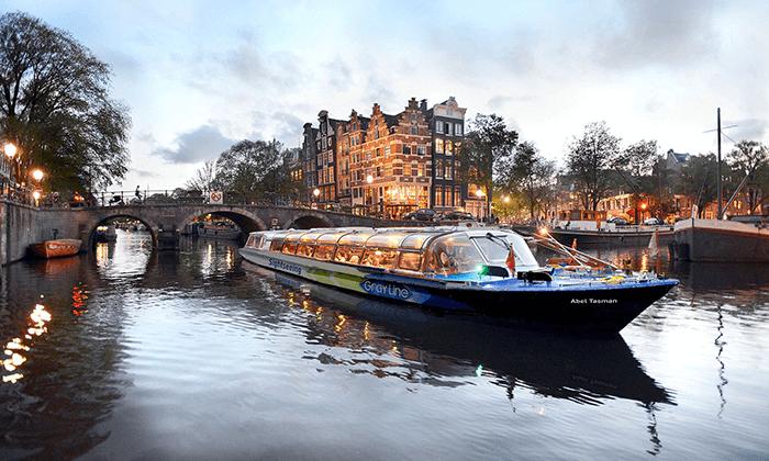 """3 שייט קוקטיילים באמסטרדם, כולל סופ""""ש"""