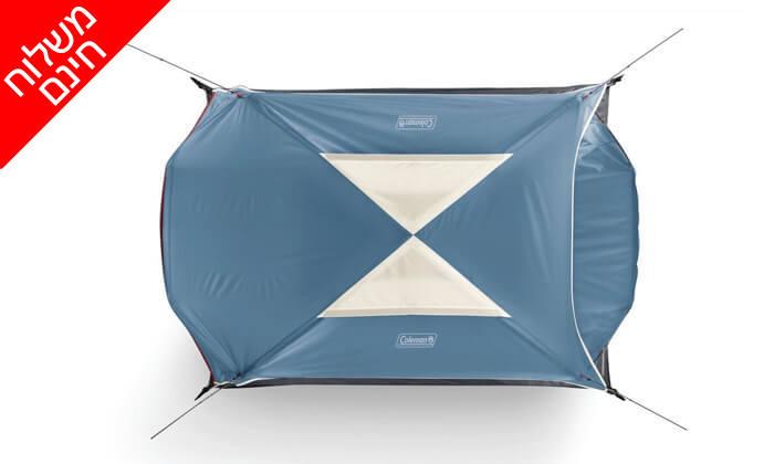 4 אוהל ל-3 אנשים Coleman - משלוח חינם