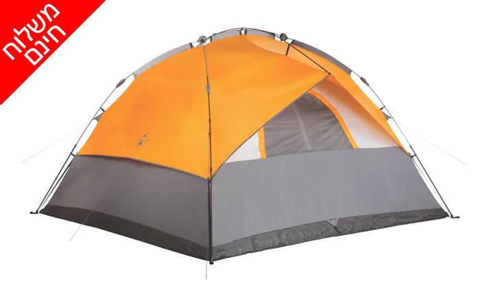 5 אוהל 7 אנשים נפתח ברגע Coleman - משלוח חינם!