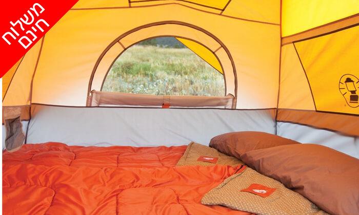 3 אוהל 7 אנשים נפתח ברגע Coleman - משלוח חינם!