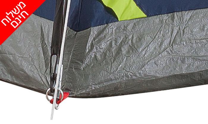 4 אוהל ל-2 אנשים Coleman - משלוח חינם