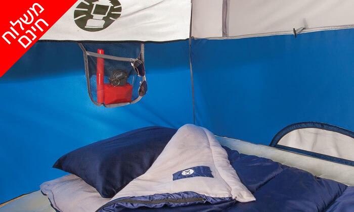 5 אוהל ל-2 אנשים Coleman - משלוח חינם