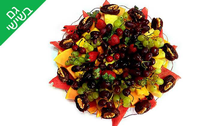 2 מגשי פירות מעוצבים - Fruit & Food, חיפה