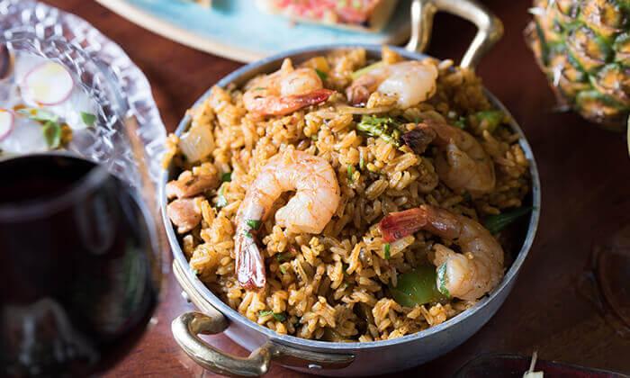 """3 מסעדת טפאו TAPEO הרצליה ות""""א - ארוחת שף זוגית"""