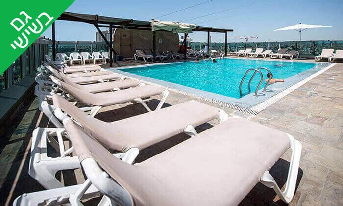4 יום כיף בבריכה של מלון רימונים טאואר כולל ארוחת בוקר עשירה, רמת גן