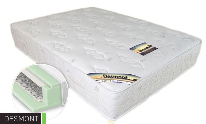 6 מיטה זוגית ממתכת BRADEX