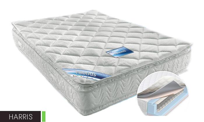7 מיטה זוגית ממתכת BRADEX