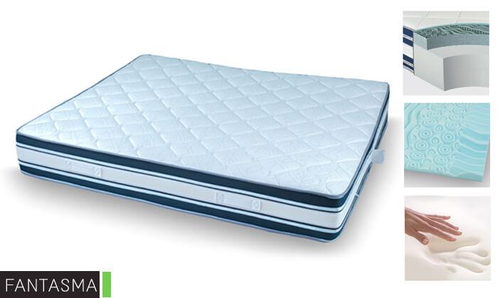 8 מיטה זוגית ממתכת BRADEX