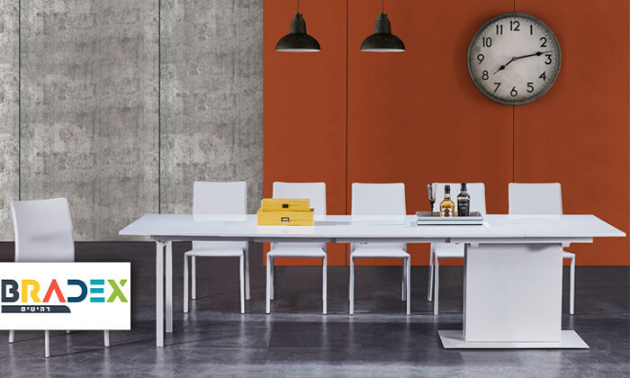 3 שולחן מודולרי נפתח לפינת אוכל MLADA