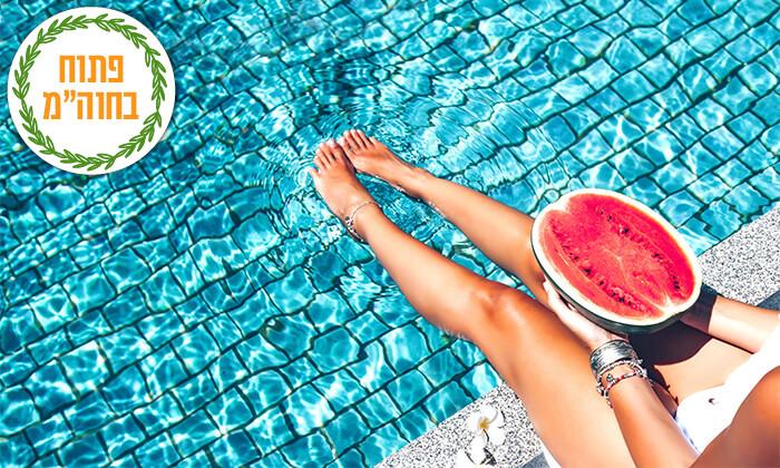 2 יום כיף עם עיסוי ובריכה ברשת Share Spa - שר ספא