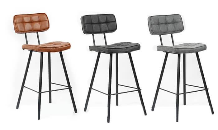 2 כסא בר מעוצב