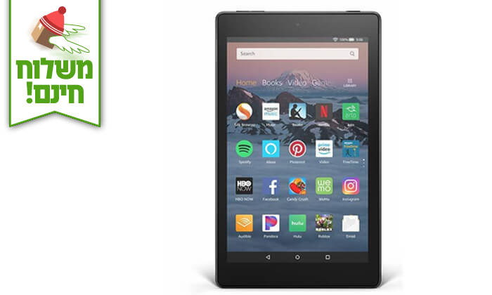 2 טאבלט New Amazon Fire HD