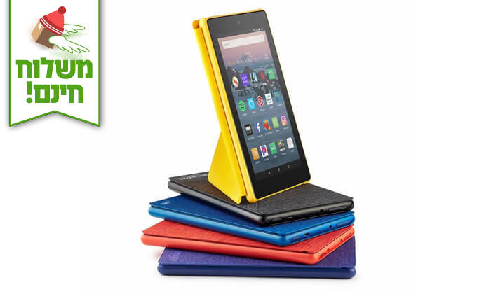 3 טאבלט New Amazon Fire HD