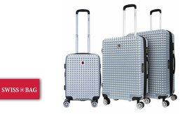 סט 3 מזוודות קשיחות SWISSBAGS