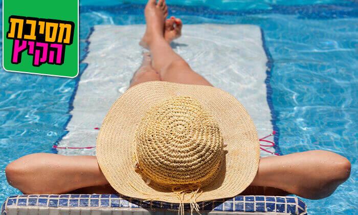 24 יום פינוק עם עיסוי ובריכה ברשת Share Spa - שר ספא