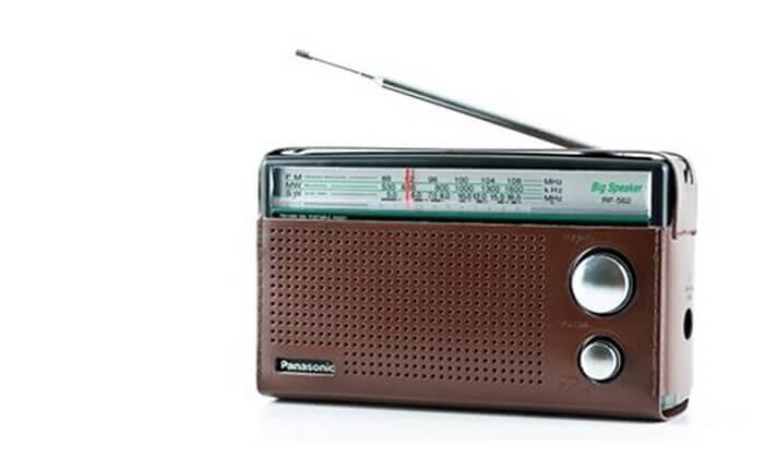 2 רדיו Panasonic