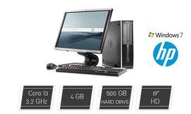 מחשב נייח HP עם מסך 19 אינץ'