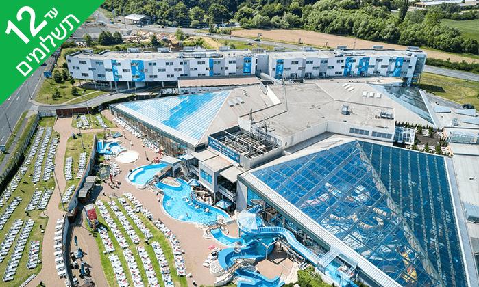 5 יולי-אוגוסט בפראג - חופשה משפחתית כולל כניסה חופשית לפארק מים מקורה