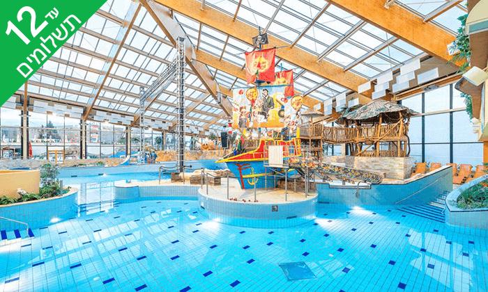 4 יולי-אוגוסט בפראג - חופשה משפחתית כולל כניסה חופשית לפארק מים מקורה