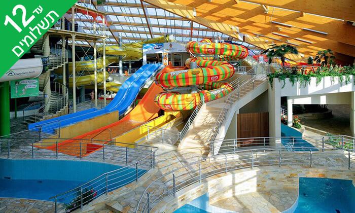 2 יולי-אוגוסט בפראג - חופשה משפחתית כולל כניסה חופשית לפארק מים מקורה