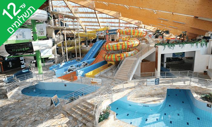 11 יולי-אוגוסט בפראג - חופשה משפחתית כולל כניסה חופשית לפארק מים מקורה