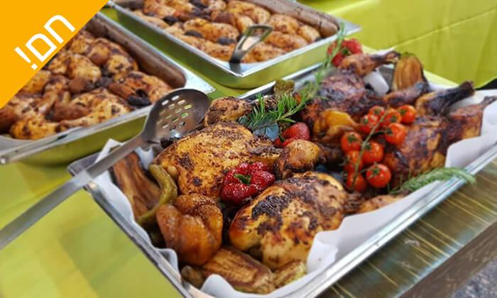5 שובר הנחה לקניית אוכל מוכן וכשר לשבת - קייטרינג שדות איילון, קיבוץ שעלבים
