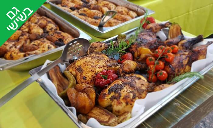 3 שובר הנחה לקניית אוכל מוכן וכשר לשבת - קייטרינג שדות איילון, קיבוץ שעלבים