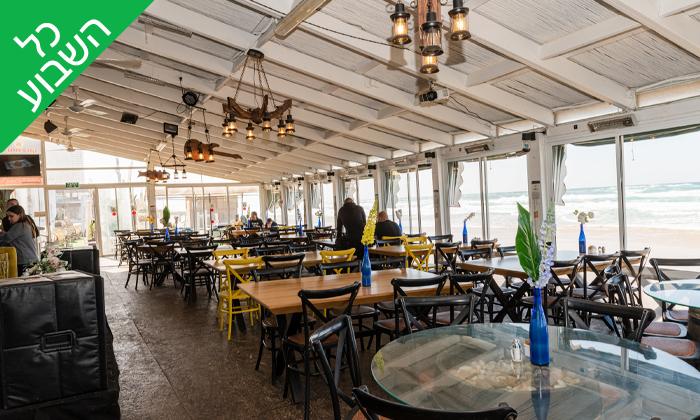 16 שובר הנחה לארוחה זוגית בסטלה ביץ', בת ים