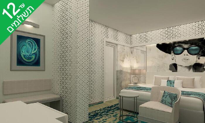 """5 אוגוסט בבורגס - מלון מומלץ עם קזינו על חוף הים בסאני ביץ', כולל סופ""""ש"""
