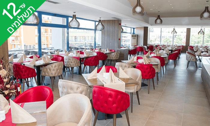 """7 אוגוסט בבורגס - מלון מומלץ עם קזינו על חוף הים בסאני ביץ', כולל סופ""""ש"""