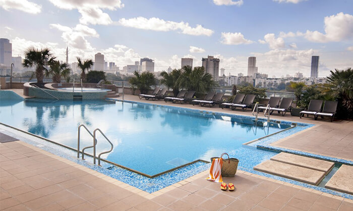 9 יום פינוק בספא סיטי טאוור - מלון לאונרדו, רמת גן