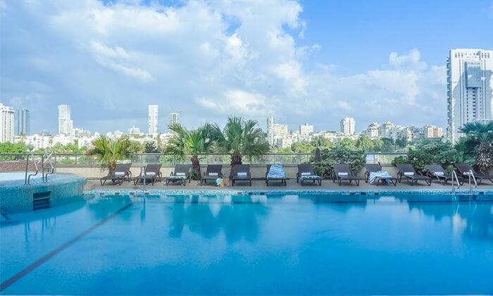 8 יום פינוק בספא סיטי טאוור - מלון לאונרדו, רמת גן