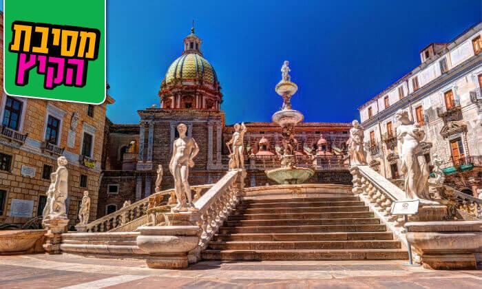 8 קיץ בסיציליה, כולל ראש השנה - חבילת טוס וסע