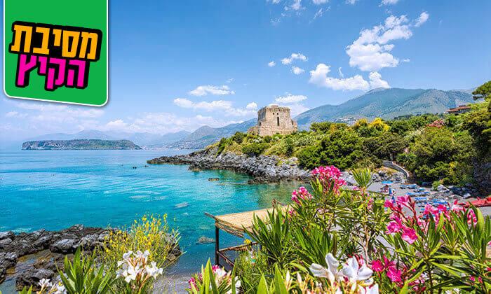 2 קיץ בסיציליה, כולל ראש השנה - חבילת טוס וסע