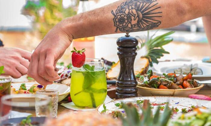 20 מסעדת עלמא, ליד חוף הים של אשדוד - ארוחת פרימיום זוגית