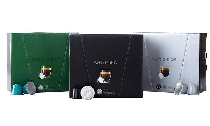 2 מארז קפסולות קפה Time Capsules