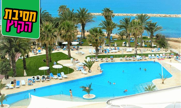 """3 חופשת קיץ בפאפוס, קפריסין - שמש, ים ומלון 5 כוכבים, כולל סופ""""ש"""