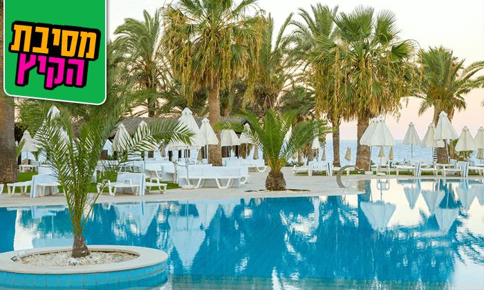 """2 חופשת קיץ בפאפוס, קפריסין - שמש, ים ומלון 5 כוכבים, כולל סופ""""ש"""